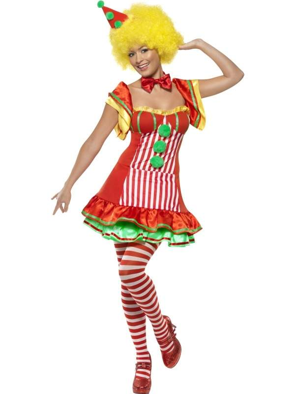 Boo Boo The Clown Dames Verkleedkleding