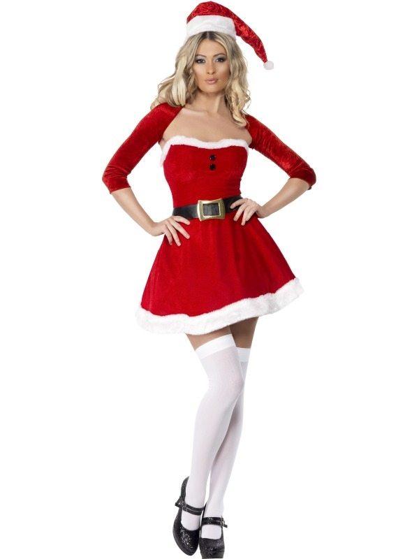 Fever Santa Babe Kostuum