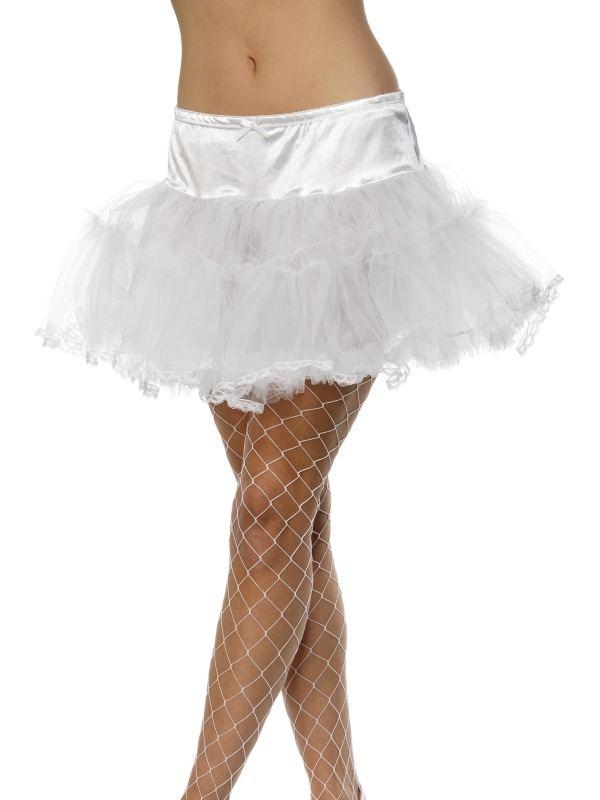 Witte Tule Petticoat