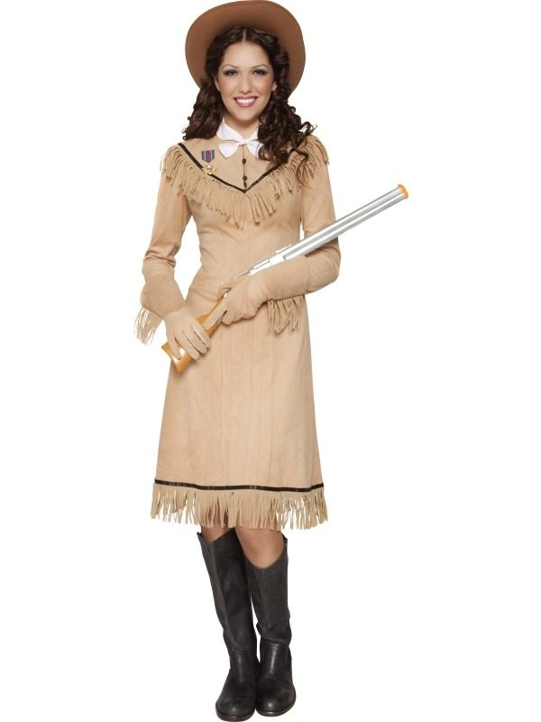 Western Authentic Annie Oakley Verkleedkleding