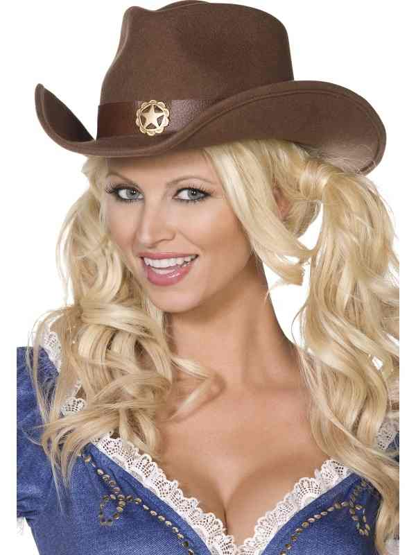 Fever Boutique Wild West Cowboy Hoed