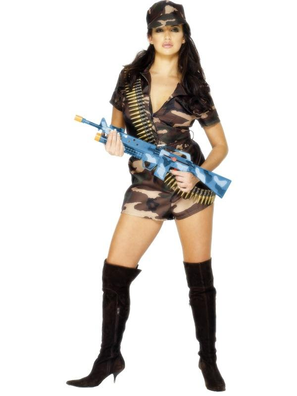 Army Girl Sexy Kostuum