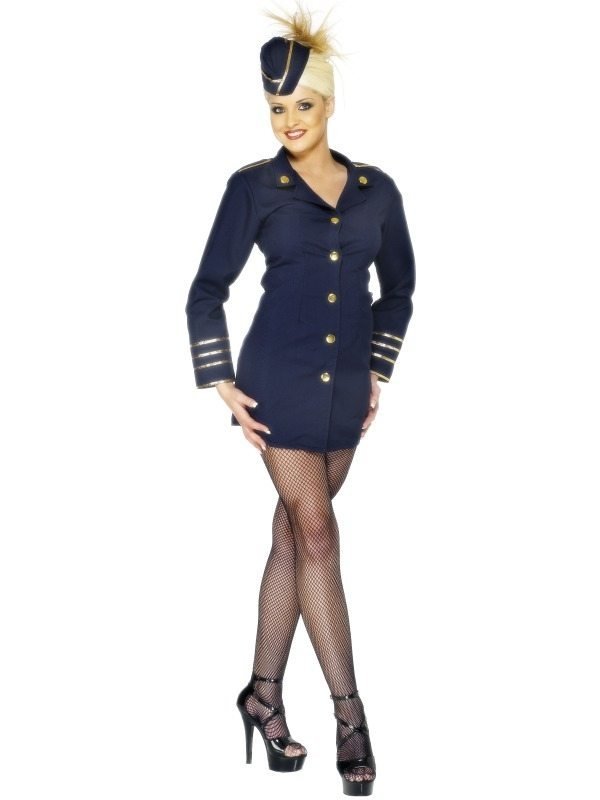 Stewardess Flight Attendant Kostuum