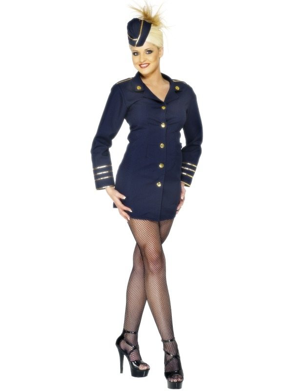 Stuwardess Flight Attendant Kostuum