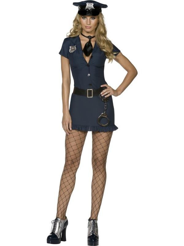 Fever Naughty Cop Agente Kostuum