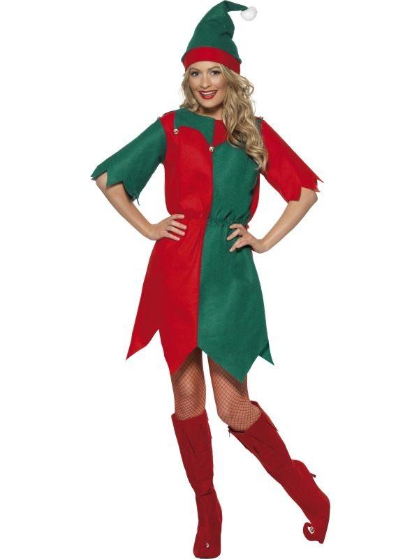 Elf Dames Kostuum met Belletjes
