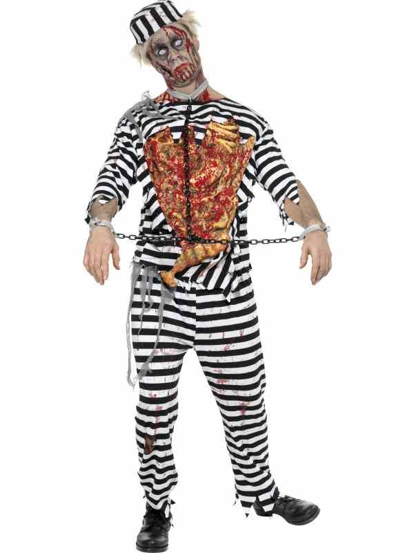 Zombie Gevangenen Boef Verkleedkleding