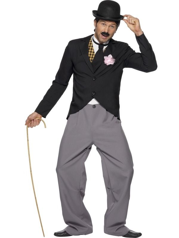 1920's Star Charlie Chaplin Kostuum