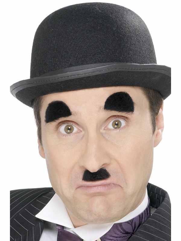 Charlie Chaplin Snor en Wenkbrauwen
