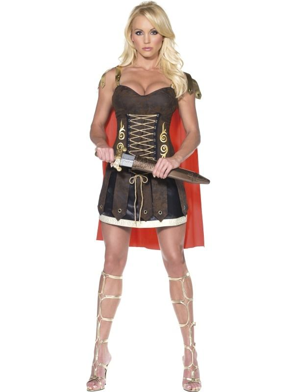 Fever Gladiator Dames Kostuum