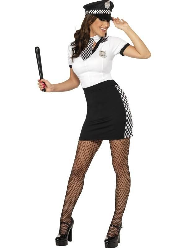 Politievrouw Agente Kostuum