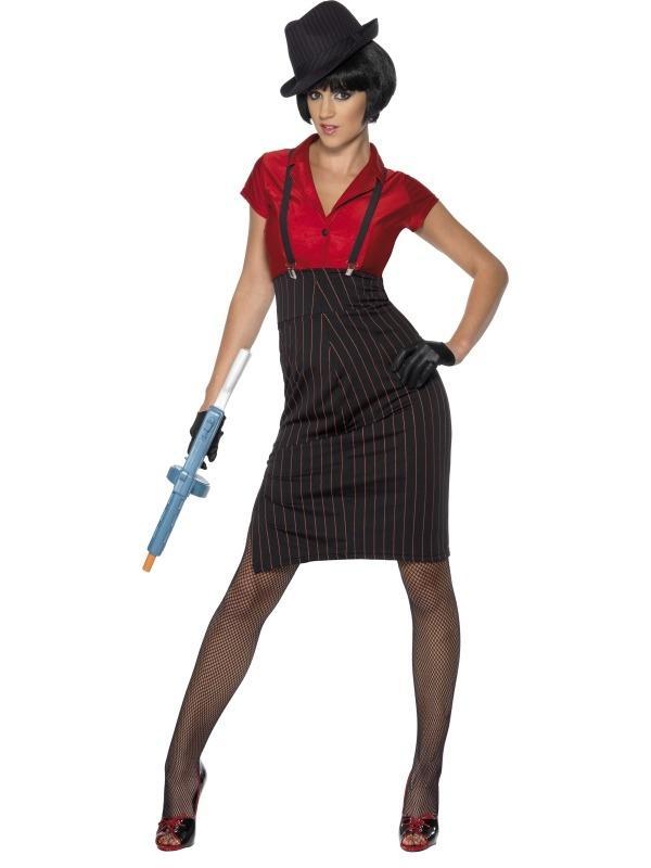 1920s Gangster Dames Verkleedkleding
