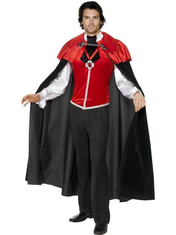 Gothic Manor Vampieren Heren Kostuum
