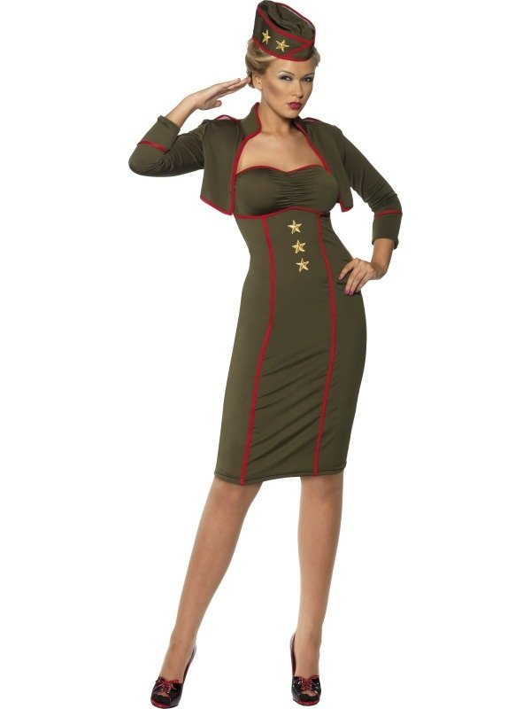 Army Girl Leger Dames Verkleedkleding