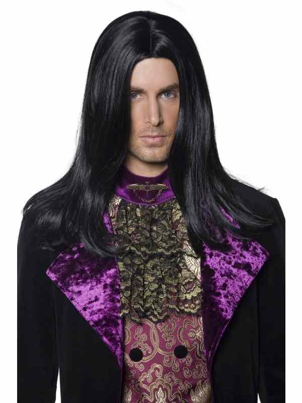 Gothic Count Heren Pruik