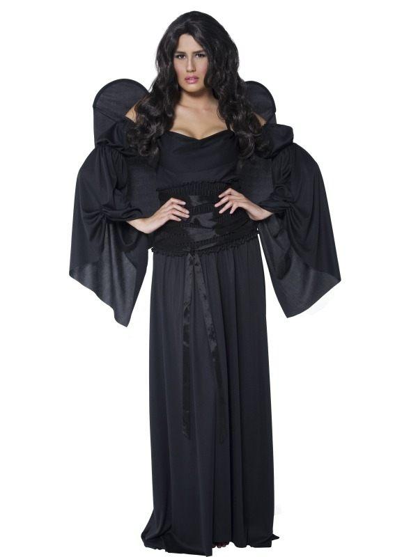 Cemetery Angel Zwarte Engel Kostuum
