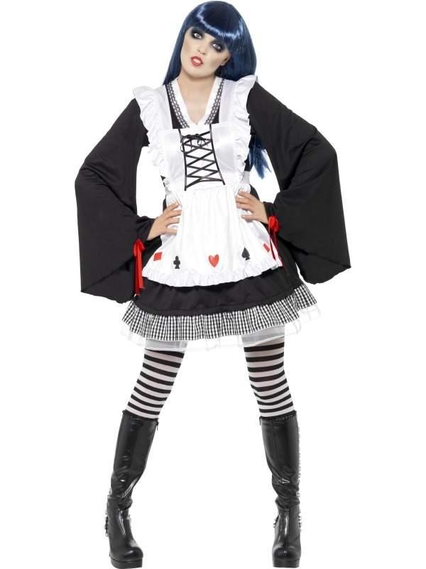 Gothic Alice in Wonderland Verkleedkleding