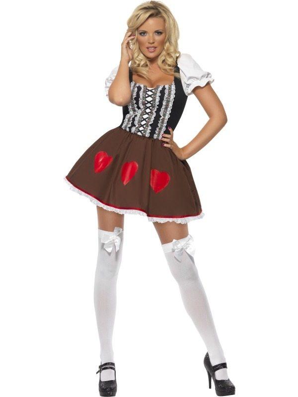Fever Heidi Dames Verkleedkleding Oktoberfest