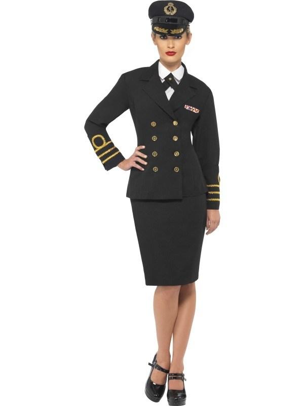 Navy Officer Officiere Kostuum