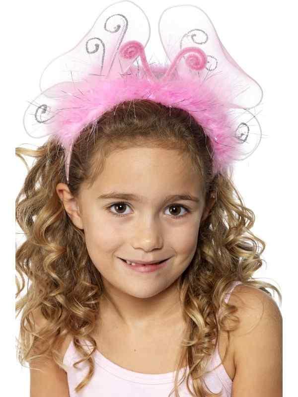 Meisjes Roze Haarband Met Knipperlichtjes