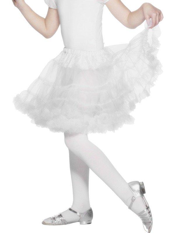 Witte Kinder Petticoat