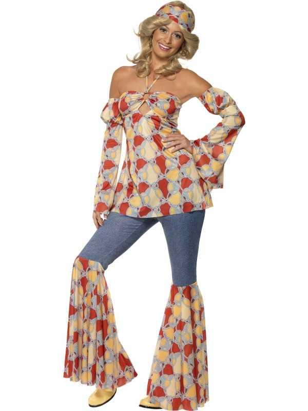 Vintage Hippie 1970's Kostuum