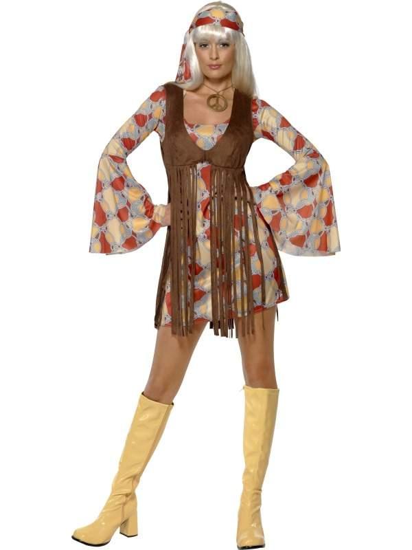 1960's Groovy Baby Dames Kostuum