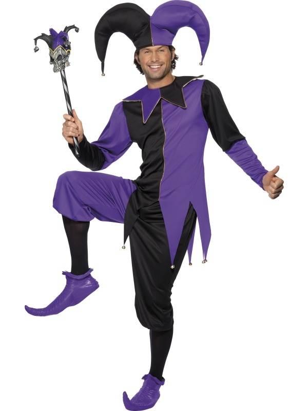 Medieval Jester Verkleedkleding