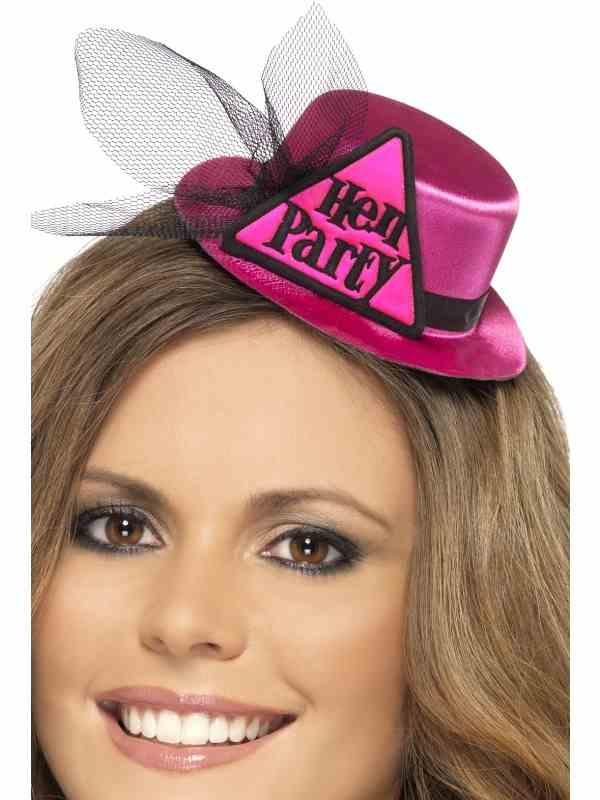 Hen Party Vrijgezellenfeest Mini Hoedje