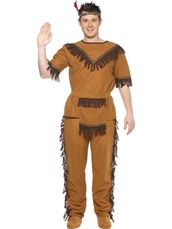 Dappere Indianen Kostuum