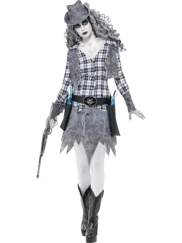 Ghost Town Cowgirl Kostuum