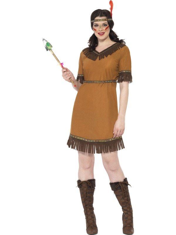 Indiaan Dames Kostuum