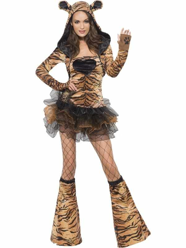 Fever Sexy Tijger Dames Kostuum