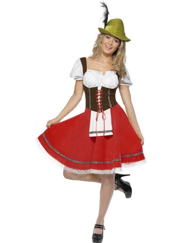 Biermeisje Dames Kostuum Oktoberfest