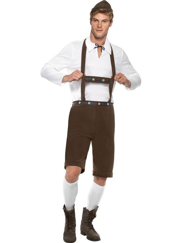 Duits Bierjongen Heren Kostuum