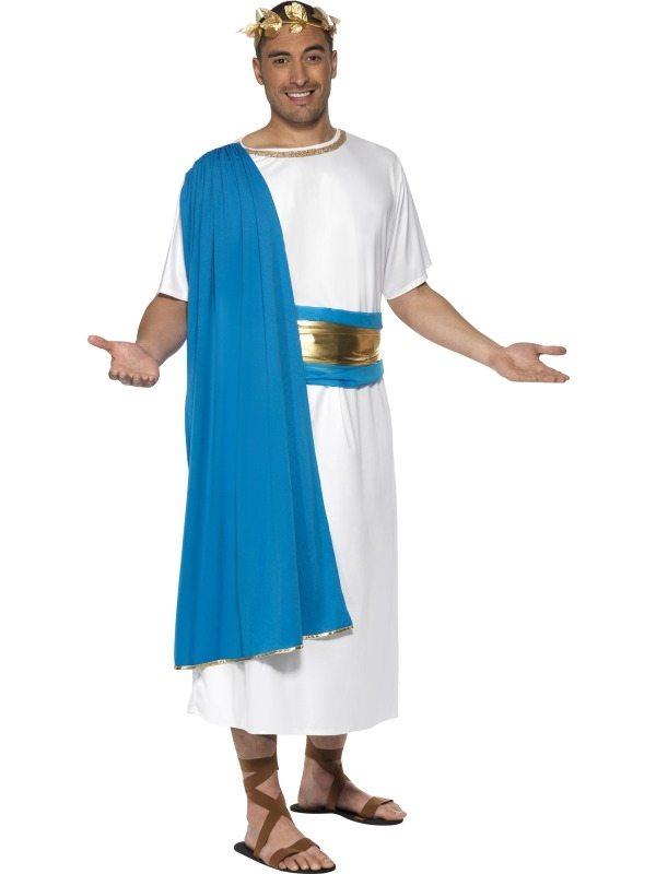 Roman Senator Heren Kostuum Blauw