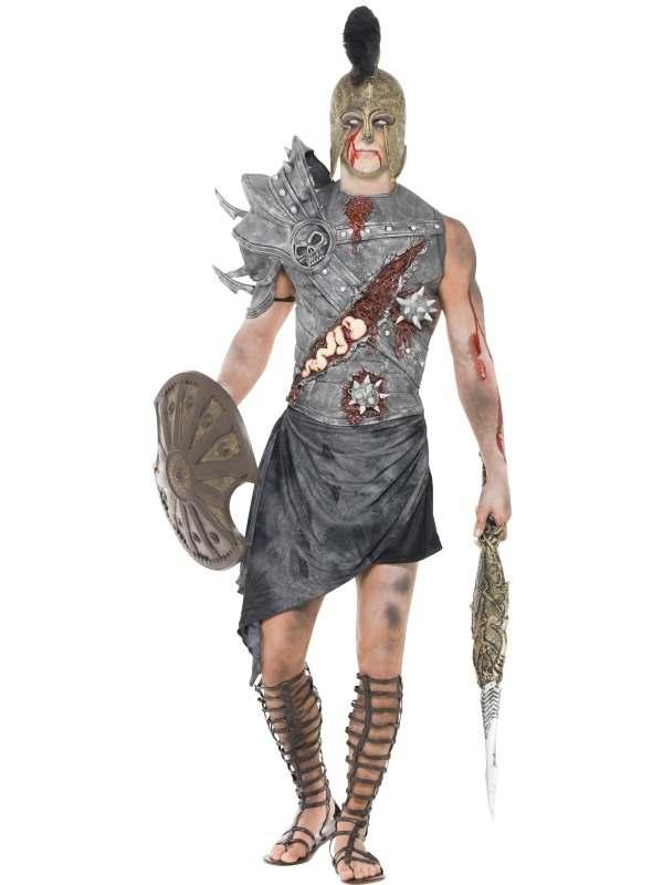 Zombie Gladiator Heren Verkleedkostuum