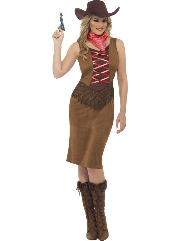 Fringe Cowgirl Dames Verkleedkleding