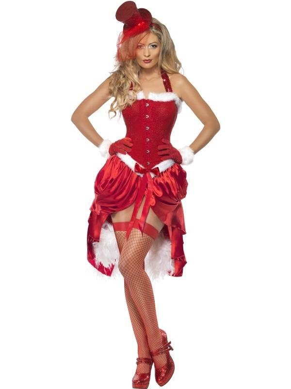 Fever Santa Baby Burlesque Kerst Verkleedkleding