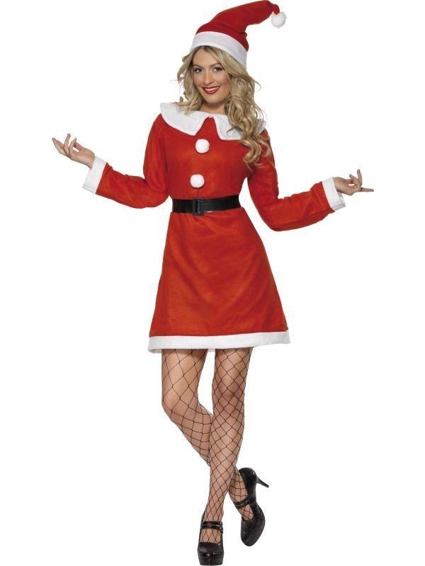 Miss Santa Voordeel Kostuum