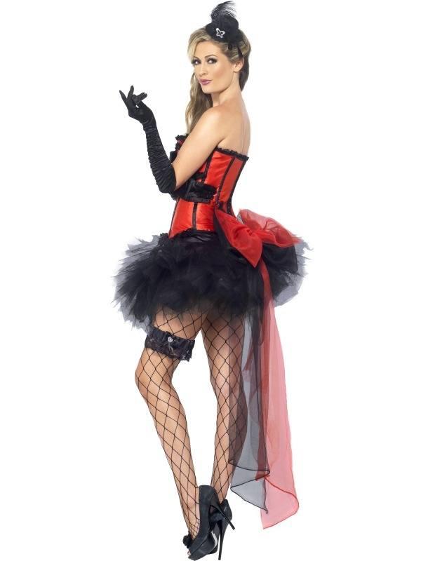 Burlesque 5-delig Verkleedsetje