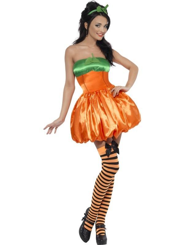 Fever Pompoen Oranje Verkleedkleding