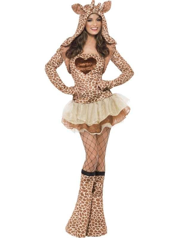 Fever Sexy Giraffe Verkleedkostuum