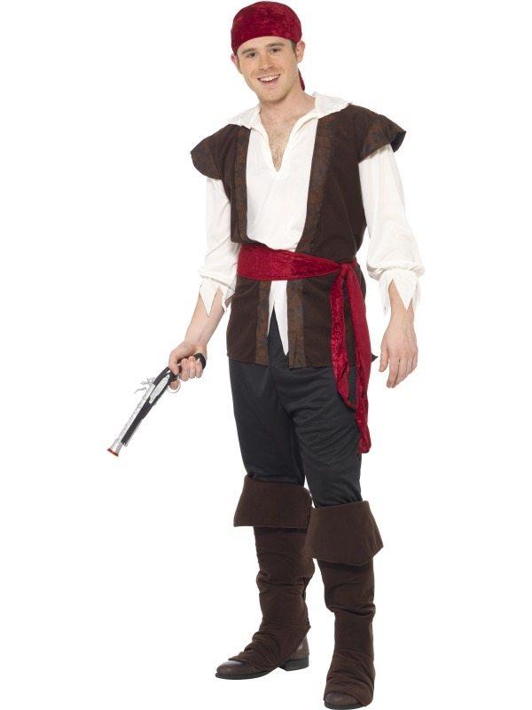 Originele Heren Piraten Kostuum