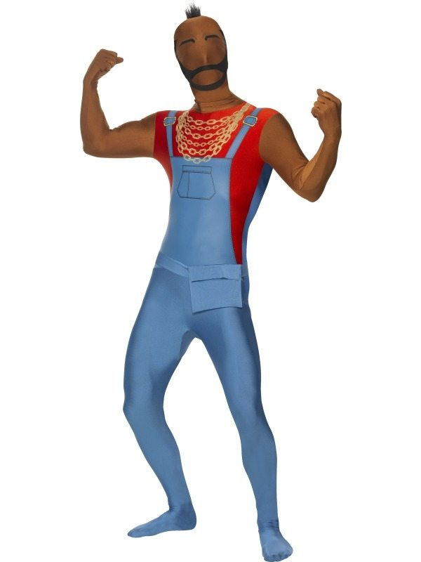 Mr T The A-team Second Skin Morph Suit