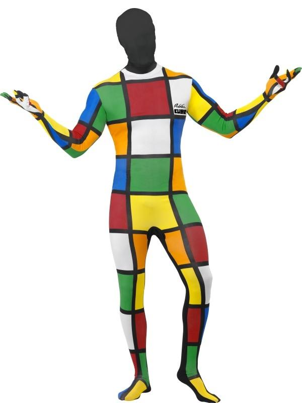 Rubiks Kubus Second Skin Morphsuit