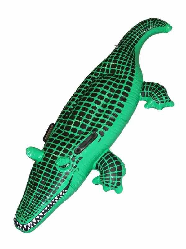 Opblaasbare Krokodil 140cm