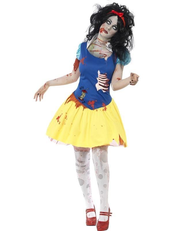 Zombie Snow Fright Halloween Verkleedkostuum