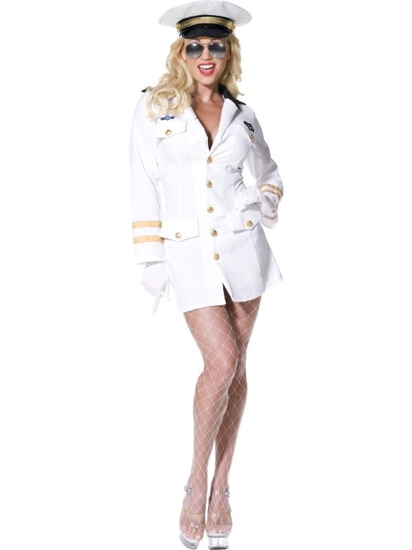 Top Gun Officier Dames Verkleedkleding