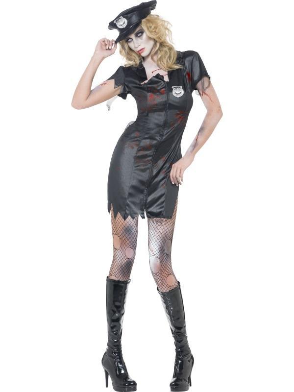 Fever Zombie Polietieagente Halloween Verkleedkleding